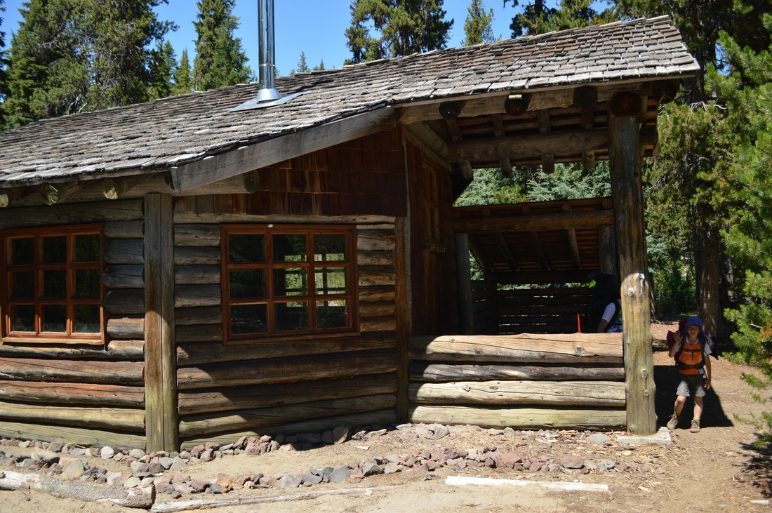 Maiden Peak Ski Shelter along the Pacific Crest Trail Oregon