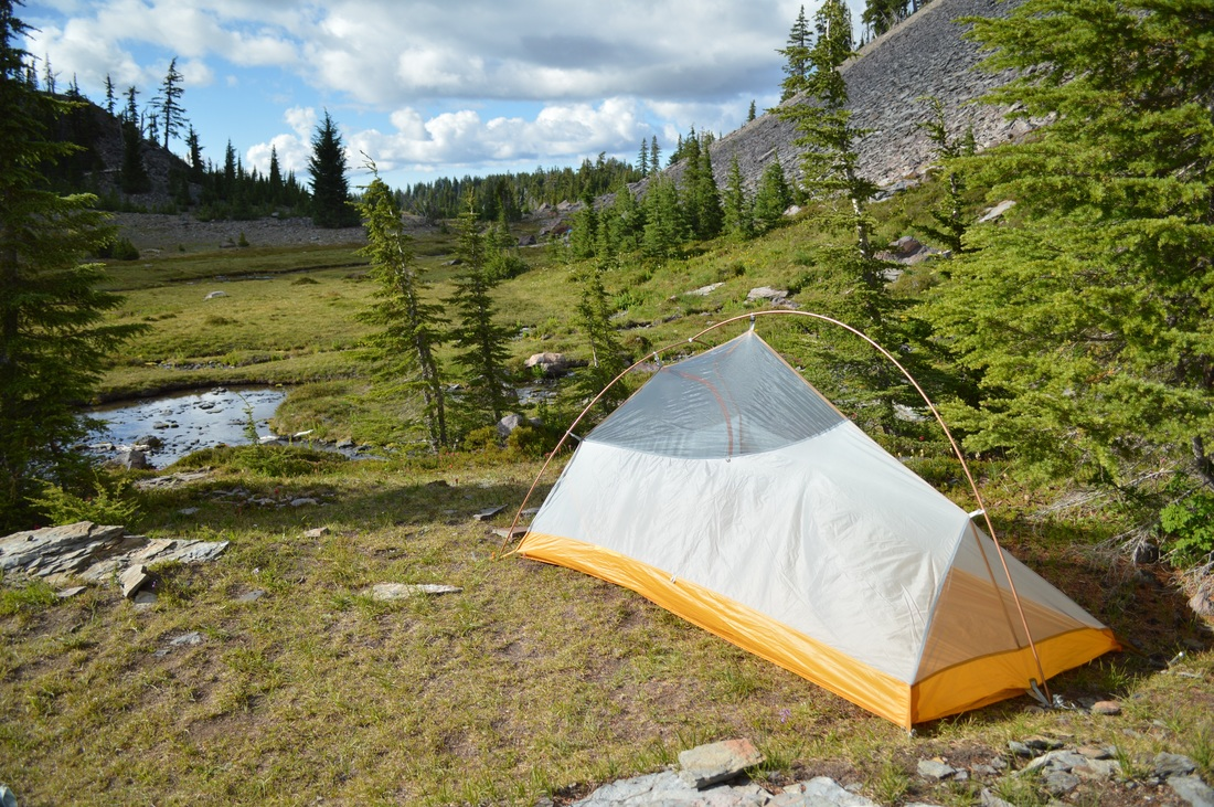 Big Agnes Fly Creek UL2 tent without rain fly
