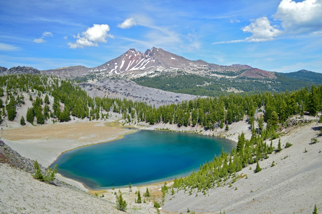 Blue Ridge Tire >> Moraine Lake - Hike Oregon