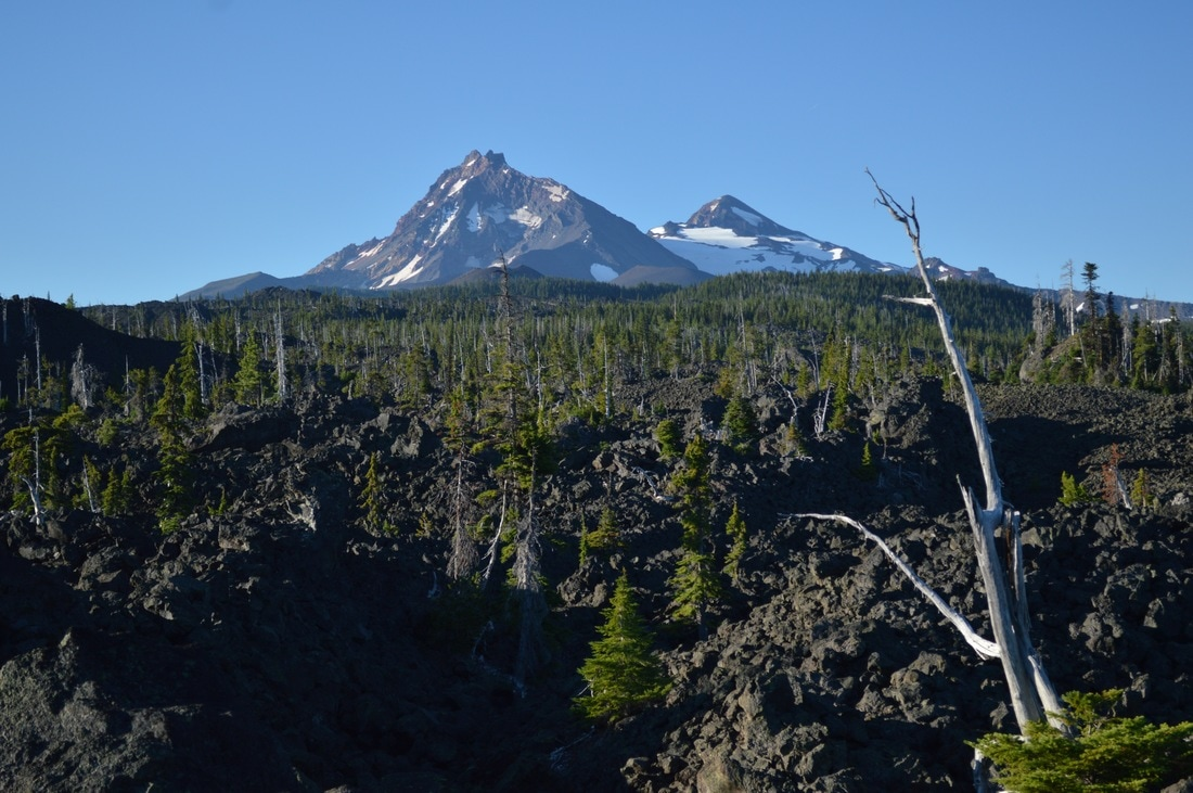 North and Middle Sister Pacific Crest Trail Oregon