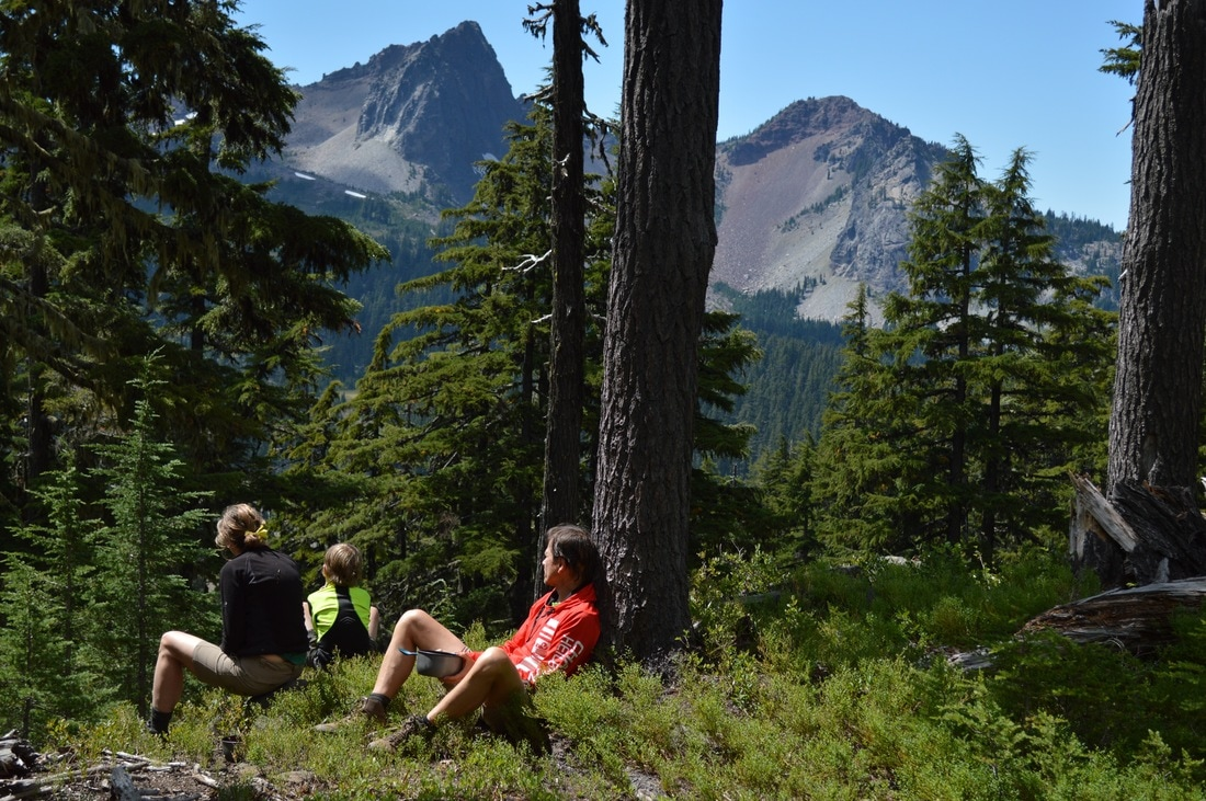The Husband Pacific Crest Trail Oregon