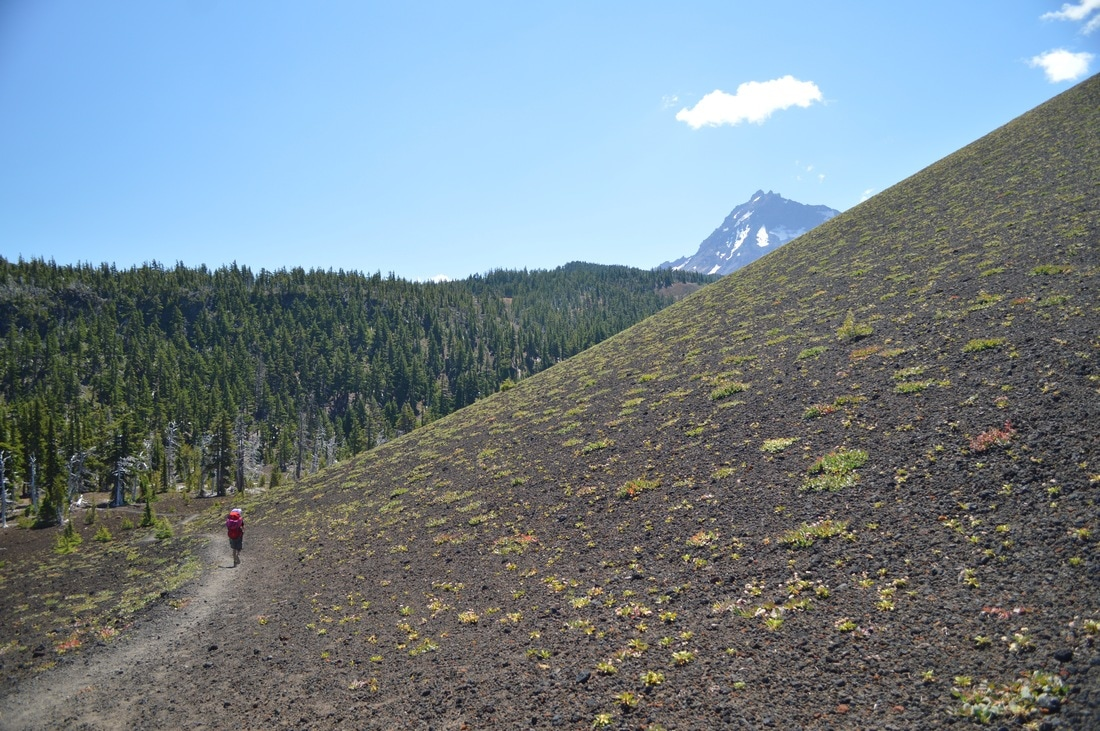 Yapoah Crater and North Sister Pacific Crest Trail Oregon