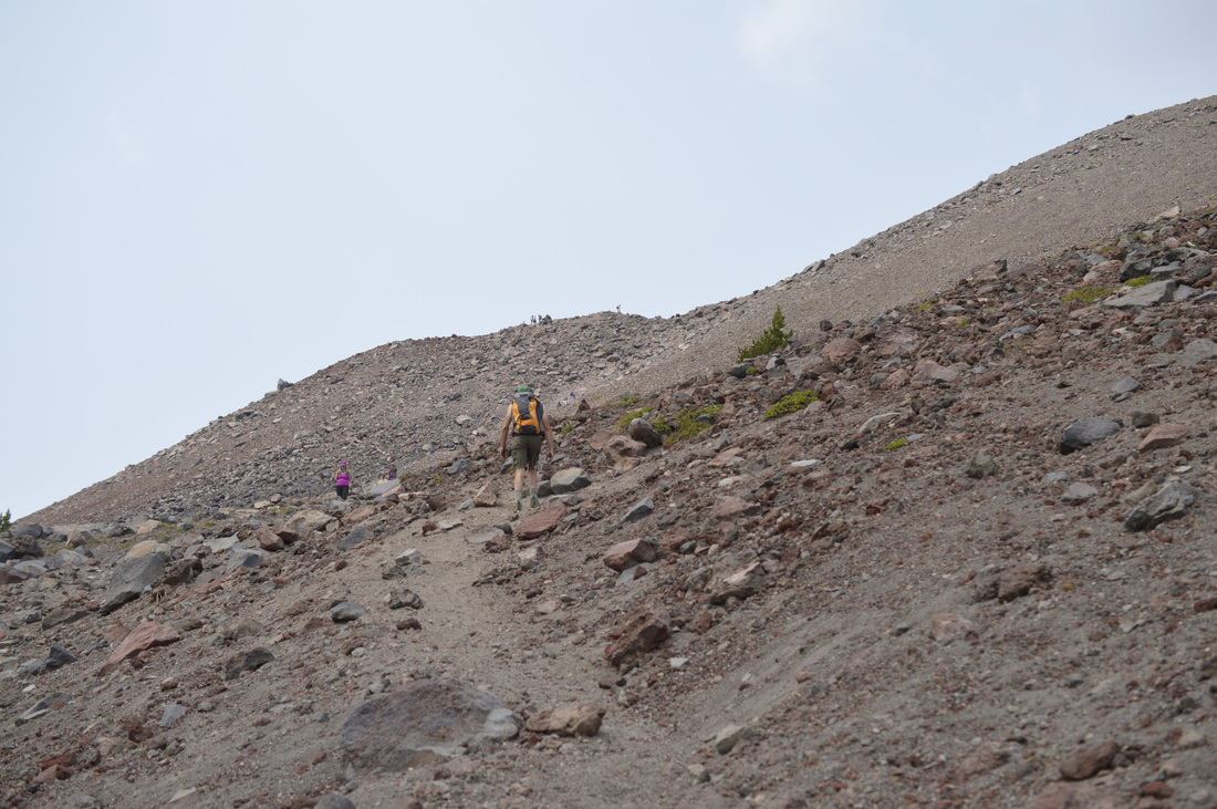 South Sister climber trail