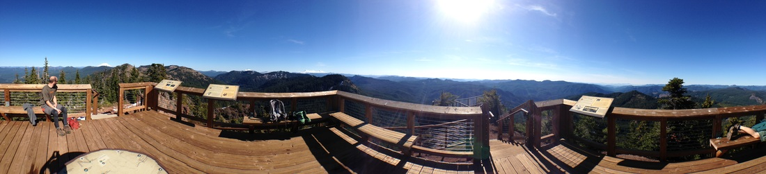 Iron Mountain lookout platform