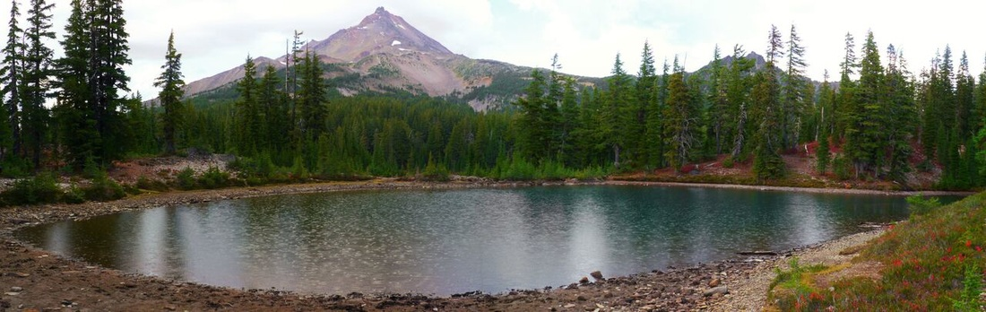 Mt. Jefferson and Shale Lake