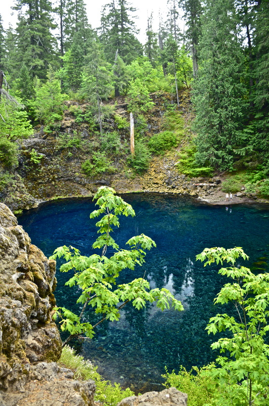 Blue Pool, top 10 Oregon hikes for kids