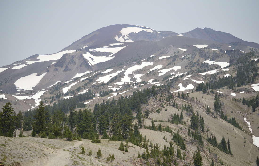 View of South Sister from the South Sister climber trail