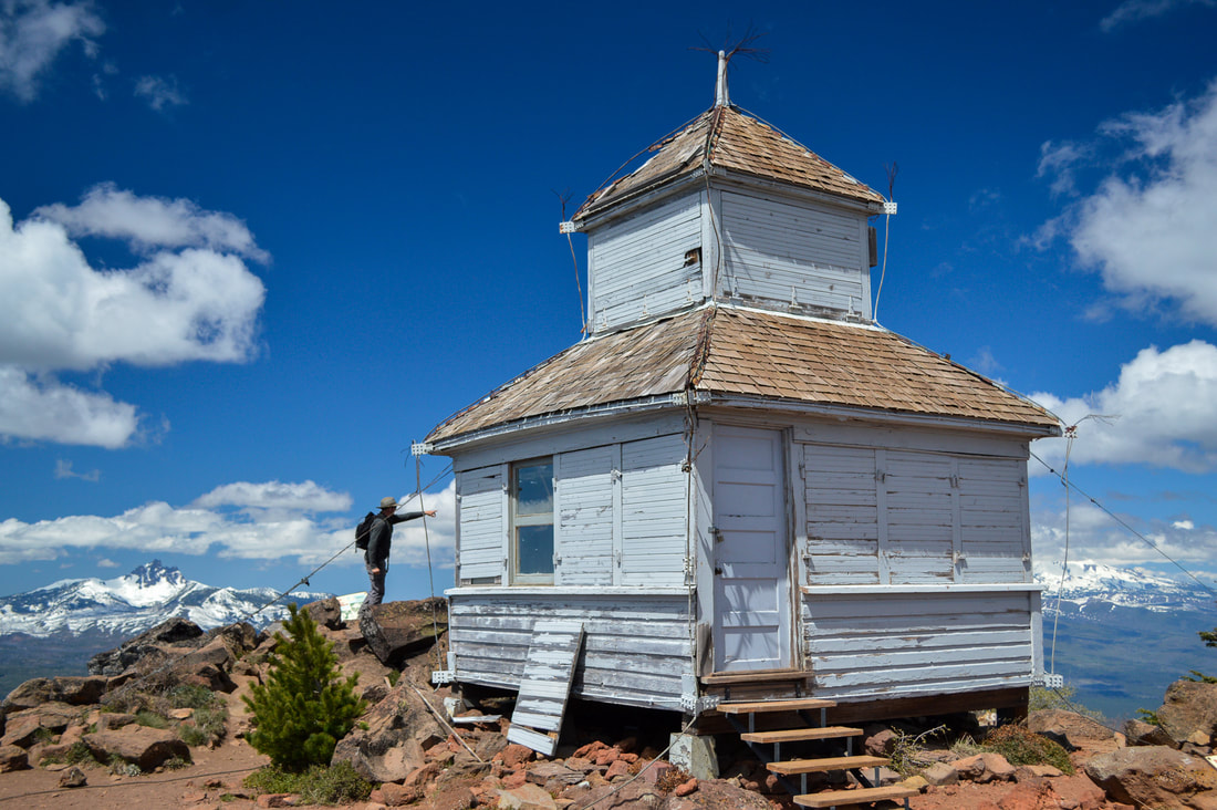 Black Butte old fire lookout