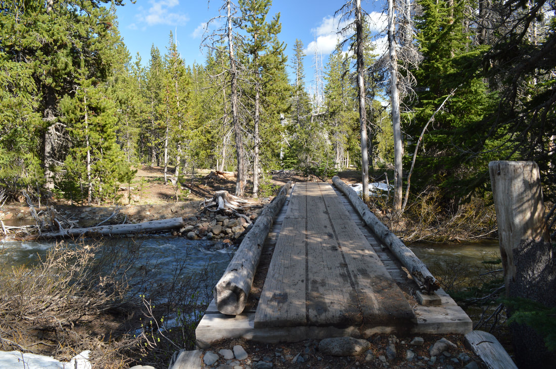 Bridge over North Fork Tumalo Creek