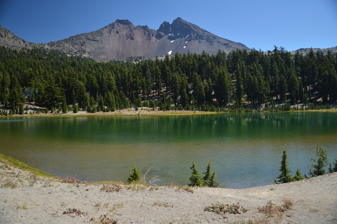 Green Lake and Broken Top