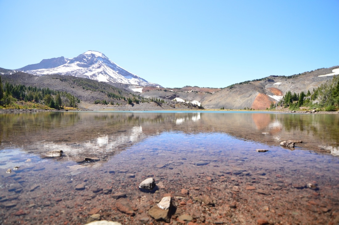 Camp Lake and South Sister