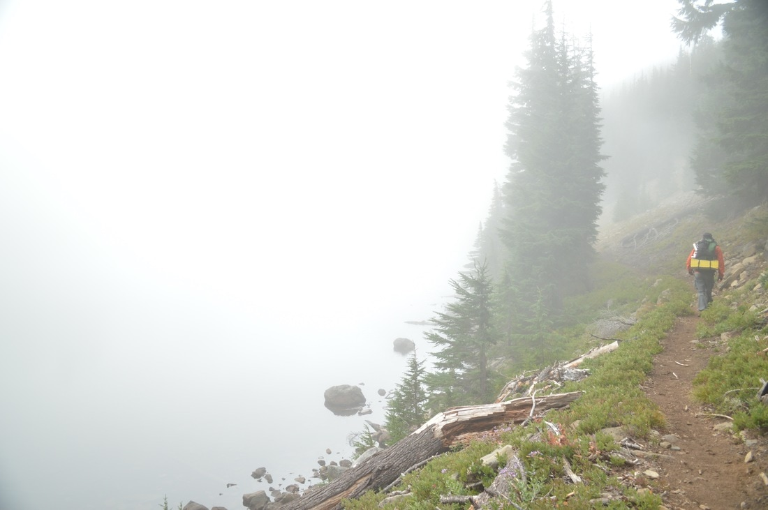 Foggy Rockpile Lake