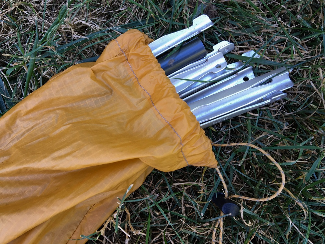 Big Agnes Fly Creek UL2 tent stakes