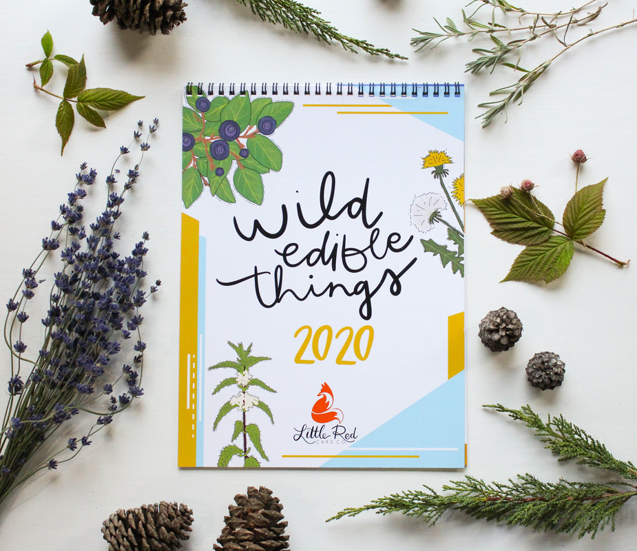 Wild Edible Things Calendar