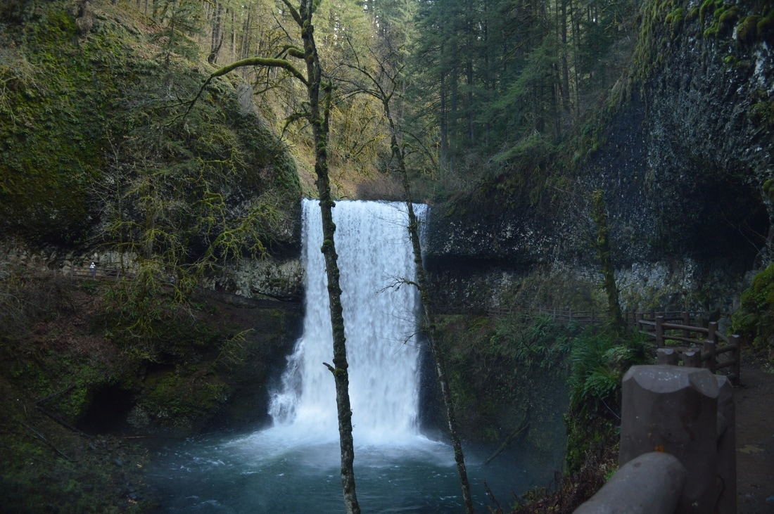 Lower South Falls Silver Falls State Park