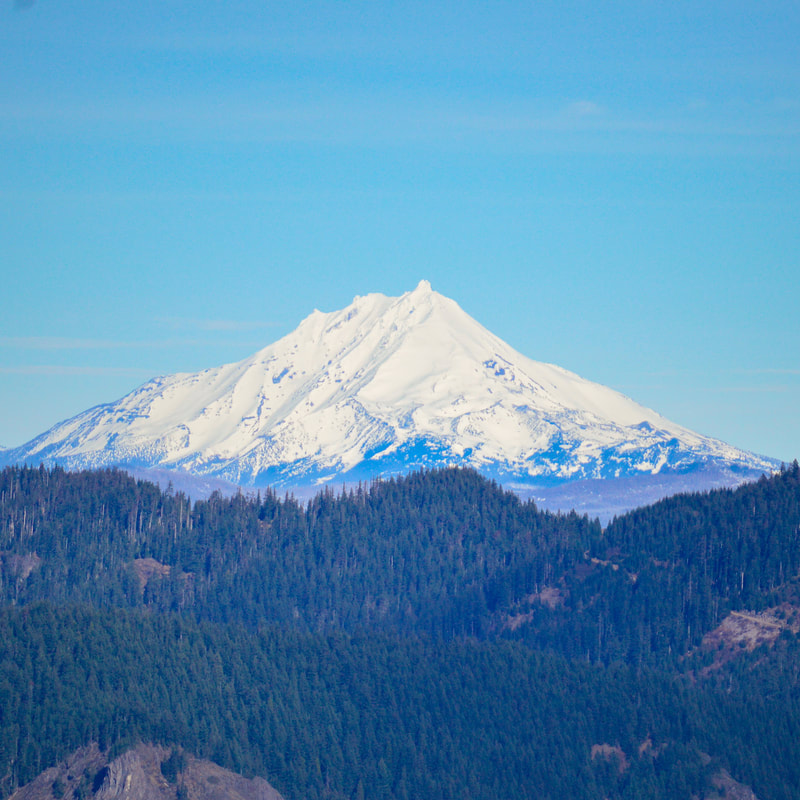 Mt. Jefferson from Macduff Mountain