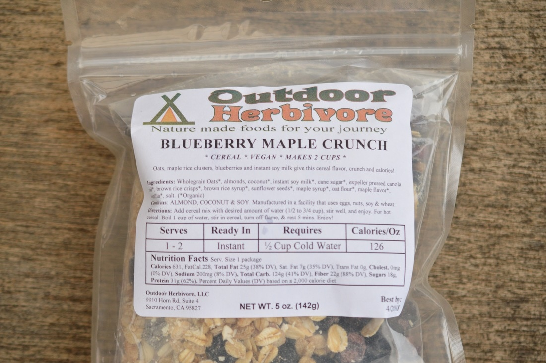 Outdoor Herbivore Blueberry Maple Crunch