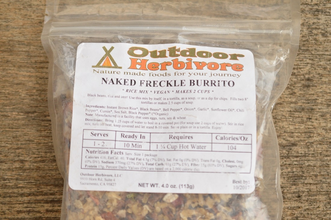 Outdoor Herbivore Naked Freckle Burrito