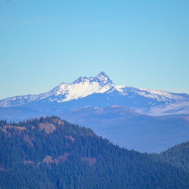 Three Fingered Jack from Macduff Mountain